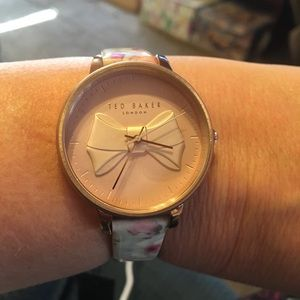 Ted Baker Ladies Rose Gold Toned Case Watch NIB